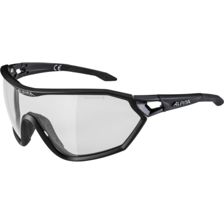 ALPINA OKULARY S-WAY L VL+ - black matt