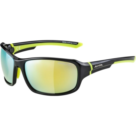 ALPINA OKULARY LYRON -black/yellow