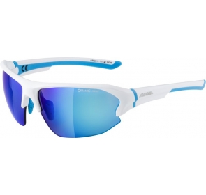 ALPINA OKULARY LYRON HR - white matt/cyan