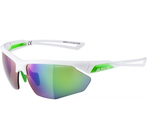 ALPINA OKULARY NYLOS HR - white/green