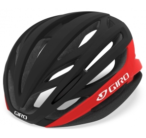 Kask szosowy GIRO SYNTAX matte black bright red