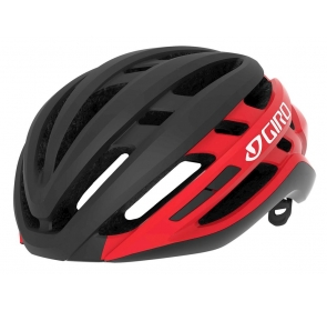Kask szosowy GIRO AGILIS matte black bright red