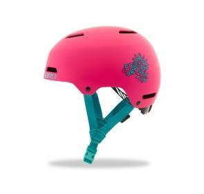 Kask dziecięcy juniorski GIRO DIME FS matte pink