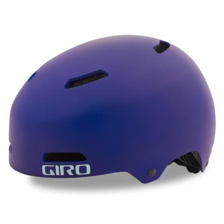 Kask dziecięcy juniorski GIRO DIME FS matte purple