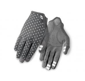 Rękawiczki damskie GIRO LA DND długi palec dark sh