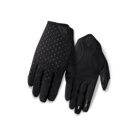 Rękawiczki damskie GIRO LA DND długi palec black d
