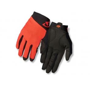 Rękawiczki męskie GIRO RIVET II długi palec vermil