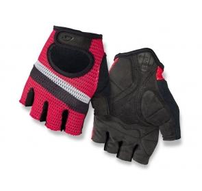 Rękawiczki męskie GIRO SIV krótki palec bright red