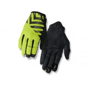 Rękawiczki męskie GIRO DND długi palec black lime