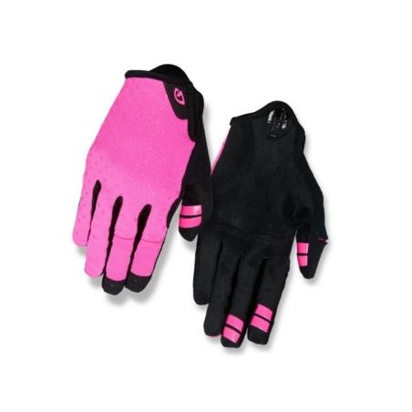 Rękawiczki damskie GIRO LA DND długi palec bright
