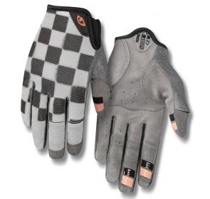Rękawiczki damskie GIRO LA DND długi palec checker