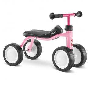 Jeździk dziecięcy PUKY Pukylino - różowy - 1