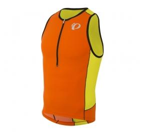 Koszulka PEARL IZUMI Elite Tri - pomarańczowa