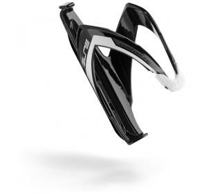 Koszyk na bidon ELITE Custom Race - czarno/biały