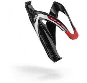 Koszyk na bidon ELITE Custom Race - czarno/czerown