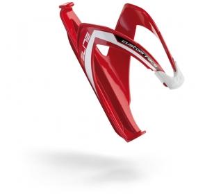 Koszyk na bidon ELITE Custom Race - czerwono/biały