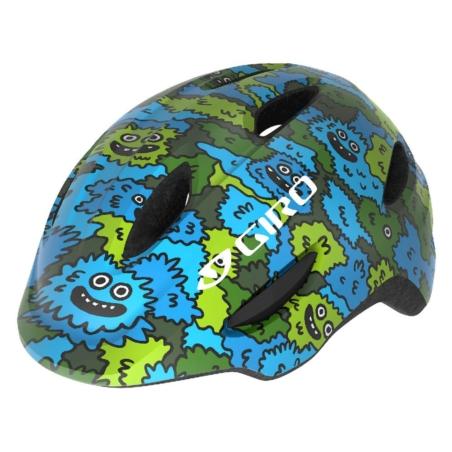 Kask dziecięcy juniorski GIRO SCAMP blue green cre