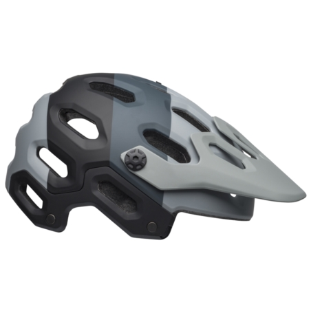 Kask mtb BELL SUPER 3 downdraft matte gray gunmeta