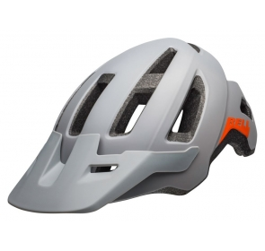 Kask mtb BELL NOMAD matte dark gray orange