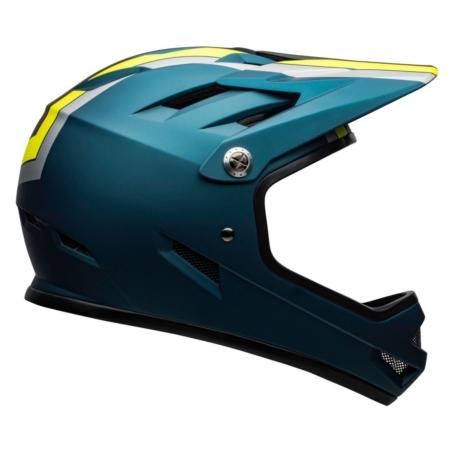 Kask full face BELL SANCTION agility matte blue hi