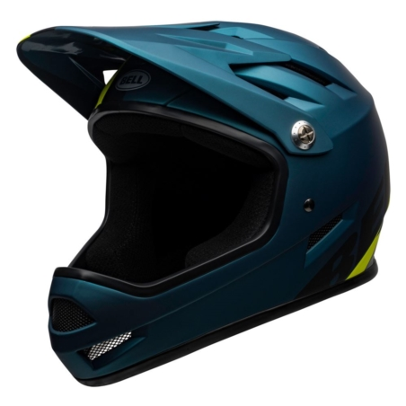 Kask full face BELL SANCTION agility matte blue hi