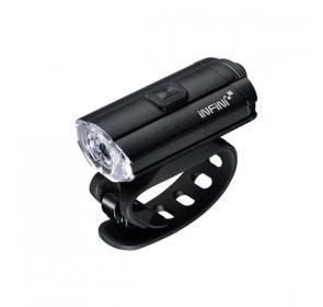 Lampka Rowerowa Przednia INFINI Tron 100 - black