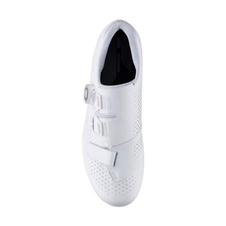 Buty rowerowe damskie SHIMANO SH-RC500 - białe