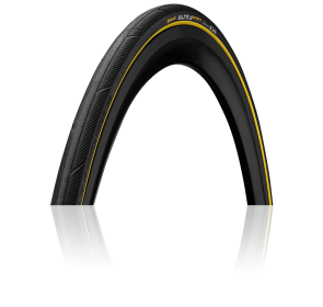Opona zwijana CONTINENTAL Ultra Sport III - żółta - 1