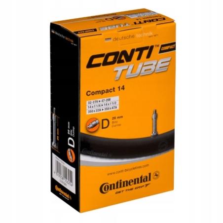 Dętka CONTINENTAL Compact 14 dunlop 26mm