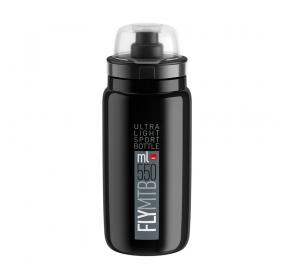 Bidon ELITE FLY MTB 550ml - czarno/szary