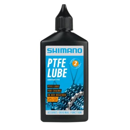 Smar do łańcucha SHIMANO PTFE 100 ml - suche warun