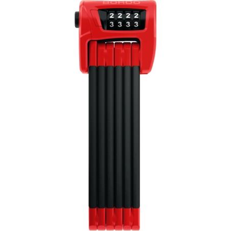 Zapięcie ABUS Bordo Combo 6100 - czerwone