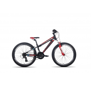 Rower Dziecięcy UNIBIKE Raptor - czarno/czerwony - 2020 - 1