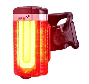 Lampka Rowerowa tylna INFINI Tron USB