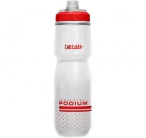 Bidon CamelBak Podium Chill 710ml - white/red
