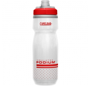 Bidon CamelBak Podium Chill 620ml - white/red