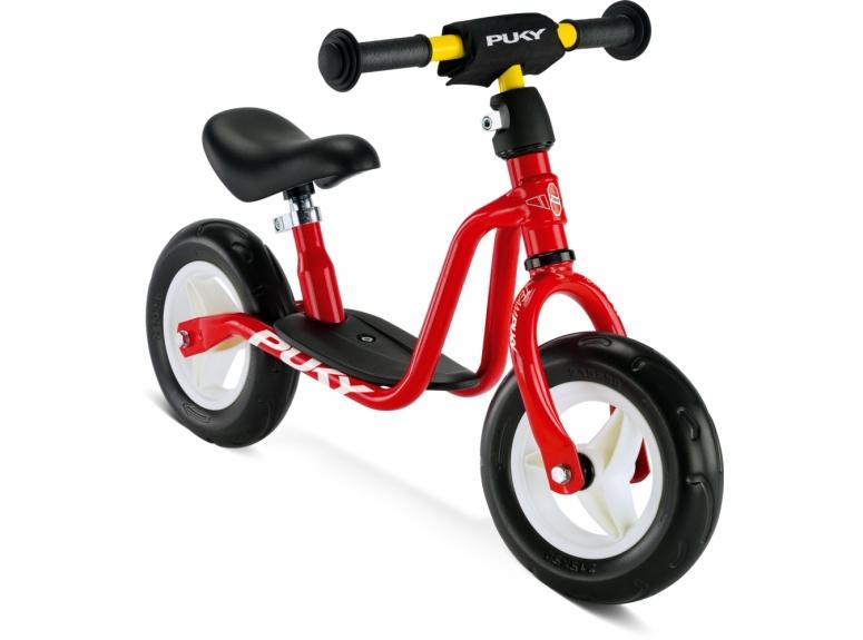 Rowerek Biegowy PUKY LRM - czerwony - 2020