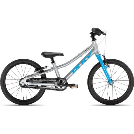 Rower dziecięcy PUKY S-Pro 18-1 - srebrno/niebiesk