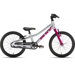 Rower dziecięcy PUKY S-Pro 18-1 - srebrno/fioletow