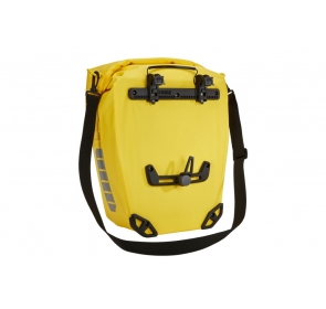 Sakwy rowerowe THULE Shield Pannier 50L - żółte