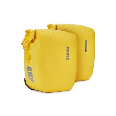 Sakwy rowerowe THULE Shield Pannier 26L - żółte