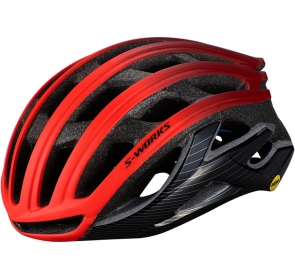 Kask SPECIALIZED S-Works Prevail II z ANGI - red/b